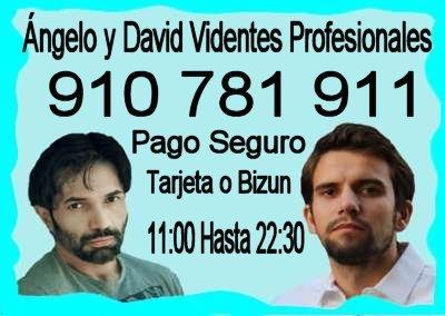 angelo y david videntes recomendados Tarot y Videncia